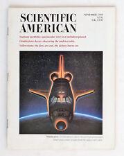 Scientific American, Magazine: January 1989, Yellowstone, Shuttle Glow..Etc.