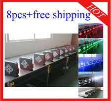 8pcs 9*10W RGBW 4 in 1 Wireless DMX512 Battery Power Led Par Light Free Shipping