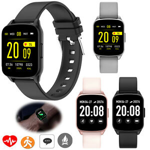 Bluetooth Smart Watch Pedometer Fitness Tracker For Android Samsung S20 S10 iOS