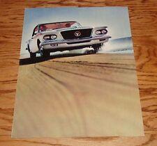 Original 1962 Plymouth Valiant Deluxe Sales Brochure 62