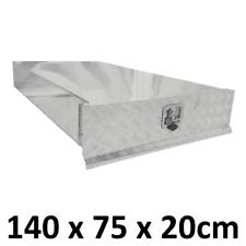 1.4m Aluminium Under Tray Toolbox Trundle Roller Tray Slide out Drawer Unit 1472