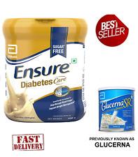 4 x 400gm Abbott Glucerna Ensure Vanilla Powder Nutrition Powder Diabetic