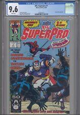 NFL Superpro #1 CGC 9.6 1991 Marvel Comics John Romita Cover Spider-Man App