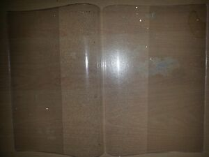 QTY 100 CLEAR SCHOOL BOOK COVERS LARGE SIZE (CLOSED A4)