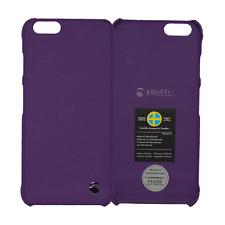 Krusell Case Cover Schutz Hülle Malmö Hardcover für Apple iPhone 6 lila
