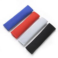 2Pcs Plush Car Auto Seat Belt Harness Cover Soft Shoulder Pad Strap Wrap Belt CA
