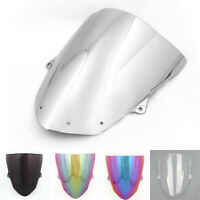 Windshield WindScreen Double Bubble For Kawasaki ZX6R 09-2014 ZX10R 2008-2010 US