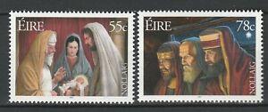 Ireland 2007 Christmas 2 MNH stamps