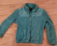 Snozu girls m (10/12) jacket WARM FLEECE blue