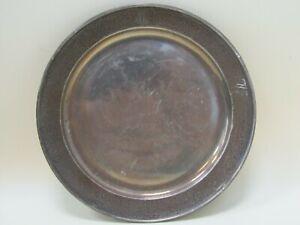 Vintage Sterling Silver Old English C Monogrammed Bread Butter Trinket Plate