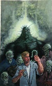 Original Swampthing Painting