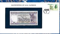 Banknotes of All Nations Rwanda 1982 100 Francs P18 UNC Prefix C