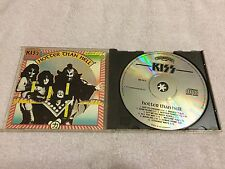 KISS HOTTER THAN HELL (1974) RARE ALL SILVER EARLY POLYGRAM WEST GERMANY CD
