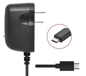 WALL CHARGER MICRO 2 AMP USB ACCESSORY FOR CRICKET WIRELESS ZTE SONATA 3
