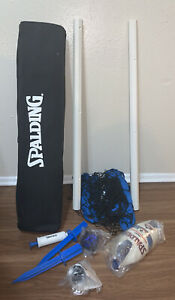 Spalding Volleyball Net Set International Series Beach Backyard NEW