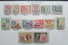 XL5079: Southern Rhodesia Mint QEII Stamp Set to £1 (1953): SG78 - 91