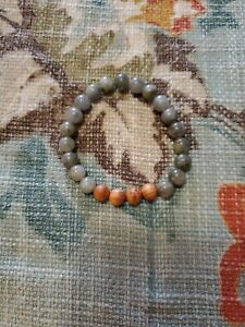 Natural Wood Aromatherapy Diffuser Scent Bracelet Essential Oil, Gray