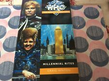 Doctor who Millennial Rites by Craig Hinton. Colin Baker virgin book