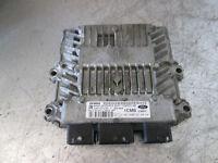 Ford Fiesta 5 Motorsteuergerät Bj 2006 1,4TDCI 50kW 6S61-12A650-AB Siemens
