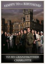 Personalised Downton Abbey Inspired Birthday Card - Lovely !