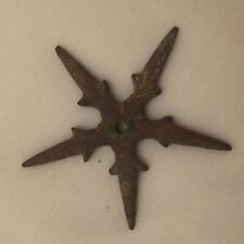 Medieval spur rowel copper alloy metal detecting find