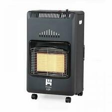 Home Life Foldable Propane Cabinet Heater Black