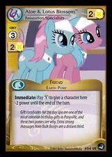 My Little Pony MLP CCG HIGH MAGIC :Aloe & Lotus Blossom, Relaxation 54 SR FOIL