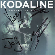 KODALINE Coming Up For Air 2015 UK SIGNED / AUTOGRAPHED 12-track CD + CoA