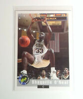 1993 Classic Draft Picks #1 Shaquille O'Neal Rookie Card Los Angeles Lakers RC