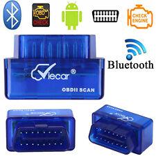 Mini V2.1 ELM327 OBD2 OBDII Bluetooth Auto Car Diagnostic Interface Scanner Tool