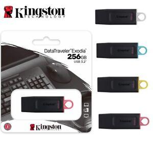 USB Drive Kingston 3.2 DataTraveler Exodia 32GB 64GB 128GB 256GB 3.2 Flash Drive