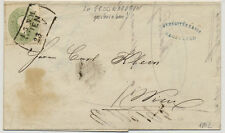 1862 3kr, grün, ORTSBRIEF (mit Inhalt) WIEN. GROSSWARDEIN geschreiben wurde!
