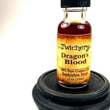 DRAGON'S BLOOD OIL, Psychic Protection, Ritual Cleansing, Hoodoo, Wicca Pagan