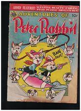 The Adventures of Peter Rabbit #7 Golden Age Comic Book Avon 1950 Vincent Fago