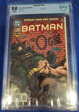 Batman #535 CBCS 9.8 Kelley Jones 1996 die cut gatefold cover THE OGRE not cgc