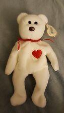 TY Valentino Beanie Baby Bear *Rare Mint Condition*