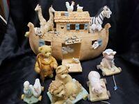 Cherished Teddies Noah's Ark Item #100526  Limited Edition 6 Piece Set