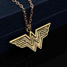 New DC Comics SuperHero WONDER Woman Men Women Pendant Necklace Amazon Warrior