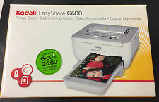 Kodak EASYSHARE Dock G600 Digital Photo Thermal Printer NEW OPEN BOX