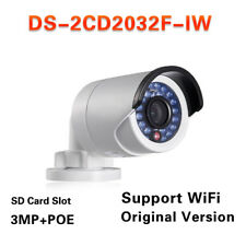 Hikvision Original Ds-2Cd2032F-Iw 3Mp1080P Poe with Sd Card Slot Wifi camera 4mm