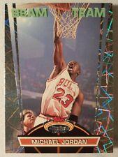 1992-93 Topps Stadium Club Michael Jordan 'Beam Team' Rare Vintage Insert #1/21