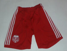 New NWT Portland Timbers adidas Rose City Red Authentic MLS Small Game Shorts