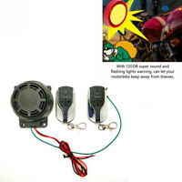 Motorcycle Bike Alarm System Anti-theft Security Remote Engine Start EB