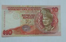 Malaysia 10 ringgit banknote