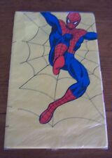 Marvel AMAZING SPIDER-MAN PARTY TABLECLOTH COVER 1978