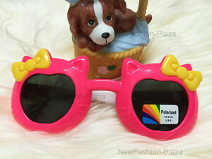 High Quality Butterfly Kids Polarized Sunglasses Junior (1-5 years) Candy Pink