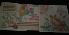 3 Homemade Blank Birthday Cards