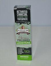 My Magic Mud Charcoal Teeth Whitening Toothpaste Black 4oz Wintergreen