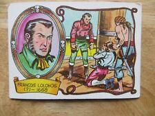 1961 VINTAGE FLEER PIRATES BOLD BUBBLE GUM CARD # 22 FRANCOIS LOLONOIS