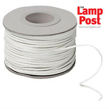 100m Drum White 2 Core Bell Wire 100 Metres - ACD BELL WIRE